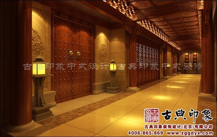 中式吃饭厅天花设计图