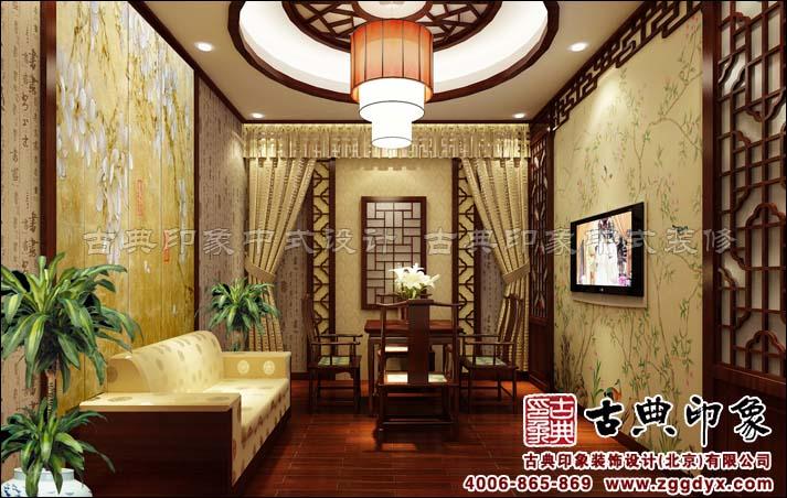 田園中式風格——青島膠州茶樓中式設計