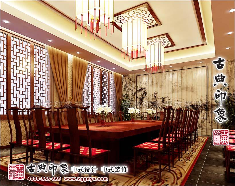 河北五福红木家具展厅中式设计