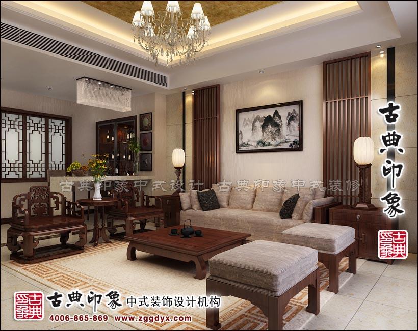 简约新中式风格别墅设计——彰显古韵今风