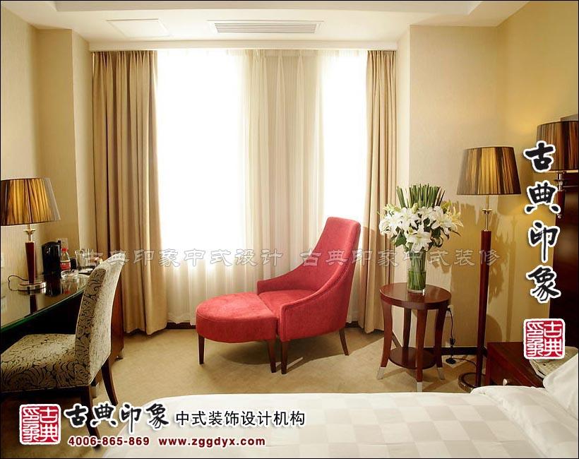 现代中式风格完美表现 星级酒店客房中式设计