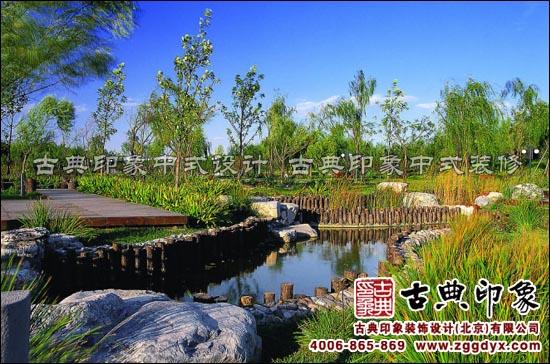 新中式园林景观设计 凝练唯美的中国古典情韵