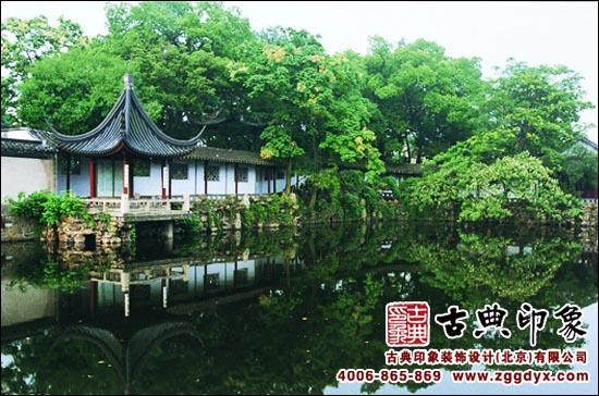 景观   古典园林景观效果图图片   古典园林景观实景欣赏