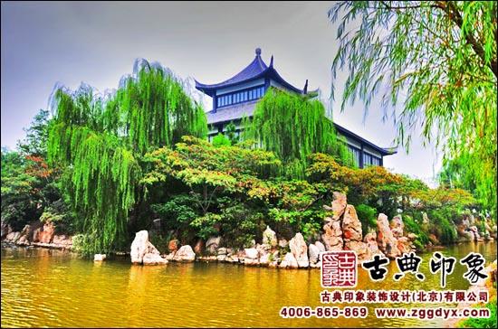 水墨江南古建园林设计图片展示