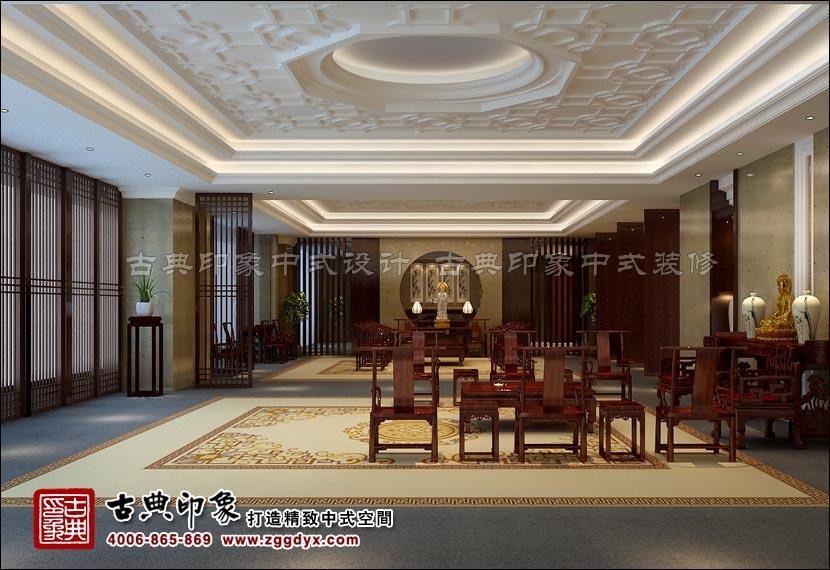 古典印象为众多知名红木家具商设计装修展厅
