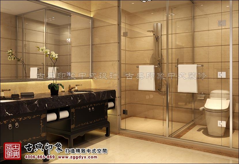 会所酒店卫生间设计效果图