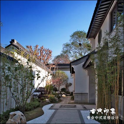 江南风格中式装修别墅