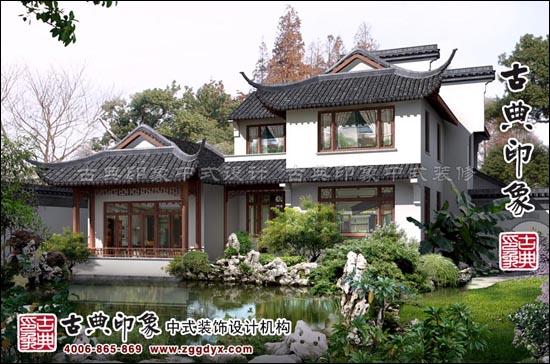 中式设计文人居室的风雅美韵高清图片