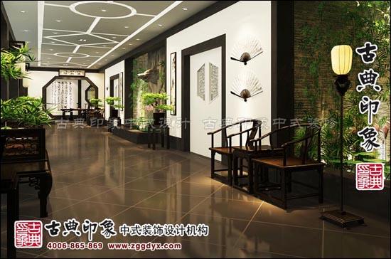 古典印象红木家具展厅中式设计